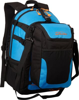 Granite Rocx The Cascade Backpack Blue - Granite Rocx Day Hiking Backpacks