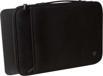 V7 13.3 inch Ultrabook Sleeve Case Black - V7 Electronic Cases