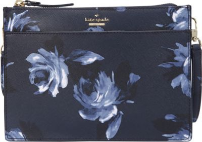 kate spade new york Cameron Street Clarise Crossbody Rich Navy Multi - kate spade new york Designer Handbags