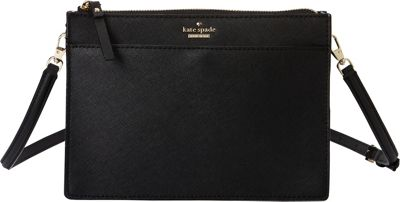 kate spade new york Cameron Street Clarise Crossbody Black - kate spade new york Designer Handbags