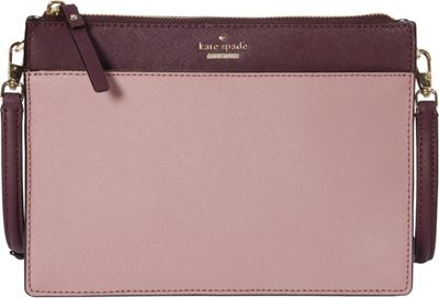 kate spade new york Cameron Street Clarise Crossbody Dusty Peony Multi - kate spade new york Designer Handbags