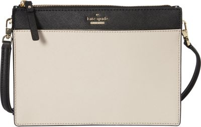 kate spade new york Cameron Street Clarise Crossbody Tusk/Black - kate spade new york Designer Handbags