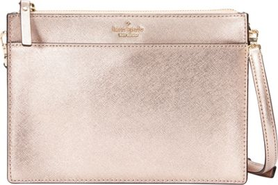 kate spade new york Cameron Street Clarise Crossbody Rose Gold - kate spade new york Designer Handbags