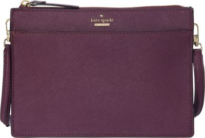 kate spade new york Cameron Street Clarise Crossbody Deep Plum - kate spade new york Designer Handbags