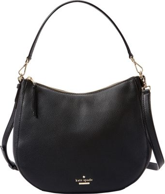 kate spade new york Jackson Street Mylie Shoulder Bag Black - kate spade new york Designer Handbags