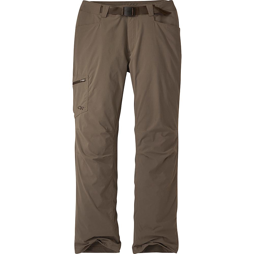 Outdoor Research Mens Equinox Pants 34 - Mushroom - Outdoor Research Mens Apparel - Apparel & Footwear, Men's Apparel