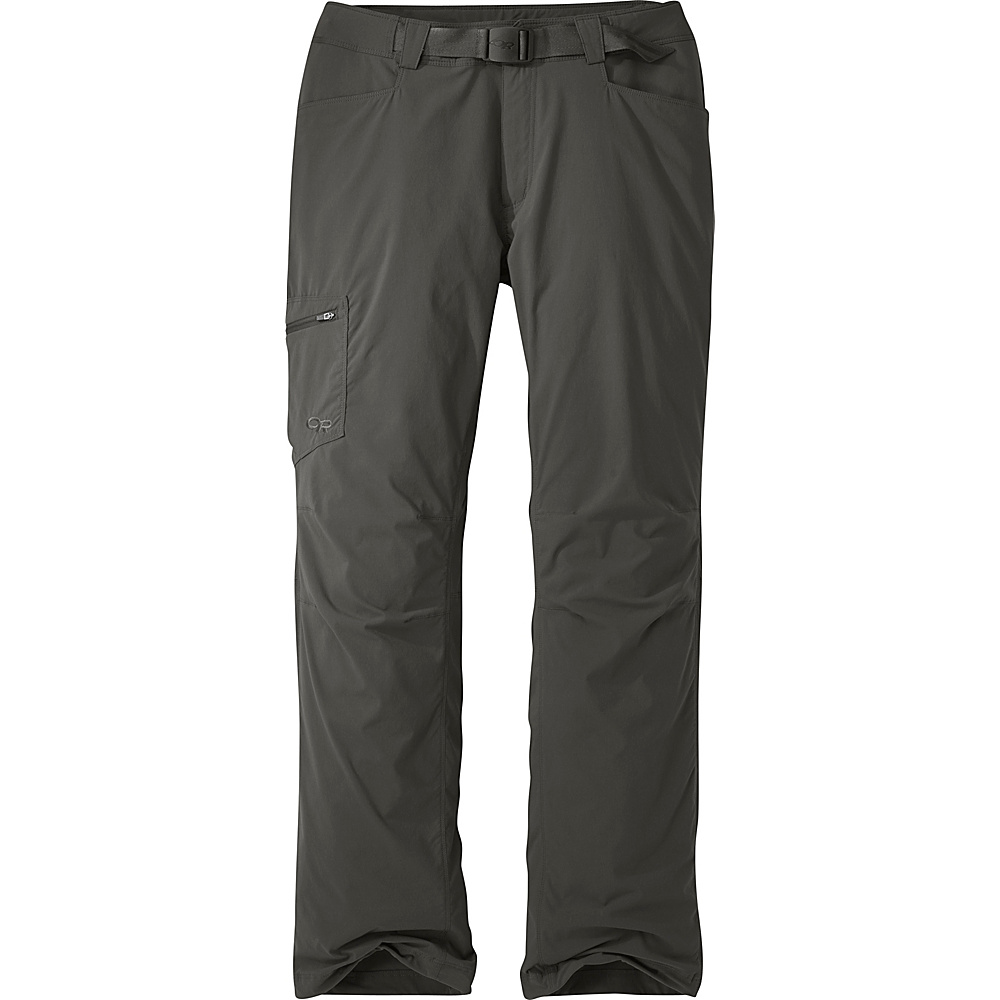 Outdoor Research Mens Equinox Pants 30 - Charcoal - Outdoor Research Mens Apparel - Apparel & Footwear, Men's Apparel