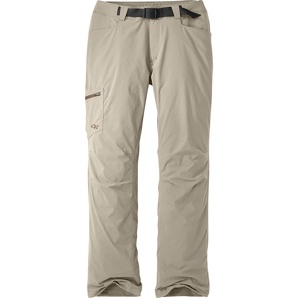 Outdoor Research Mens Equinox Pants 34 - Cairn - Outdoor Research Mens Apparel - Apparel & Footwear, Men's Apparel