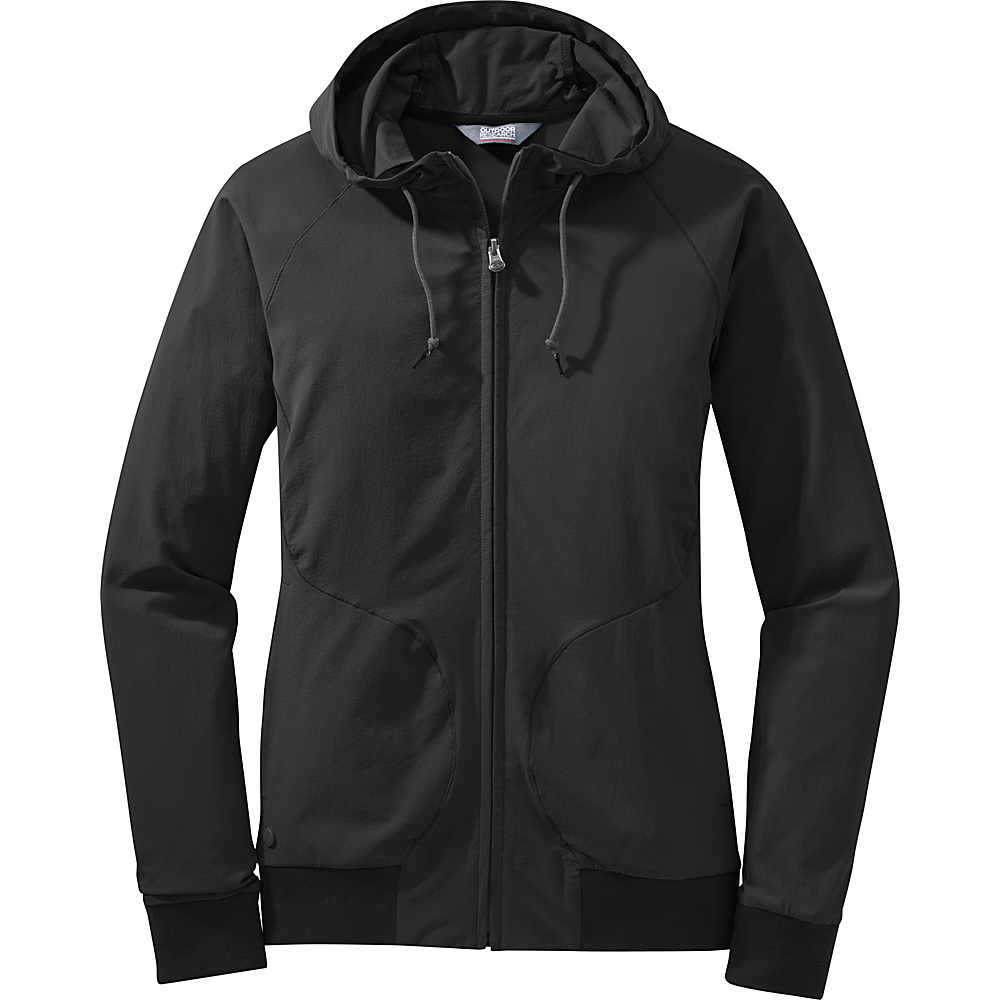 Outdoor Research Womens Ferrosi Metro Hoody L - Black - Outdoor Research Womens Apparel - Apparel & Footwear, Women's Apparel