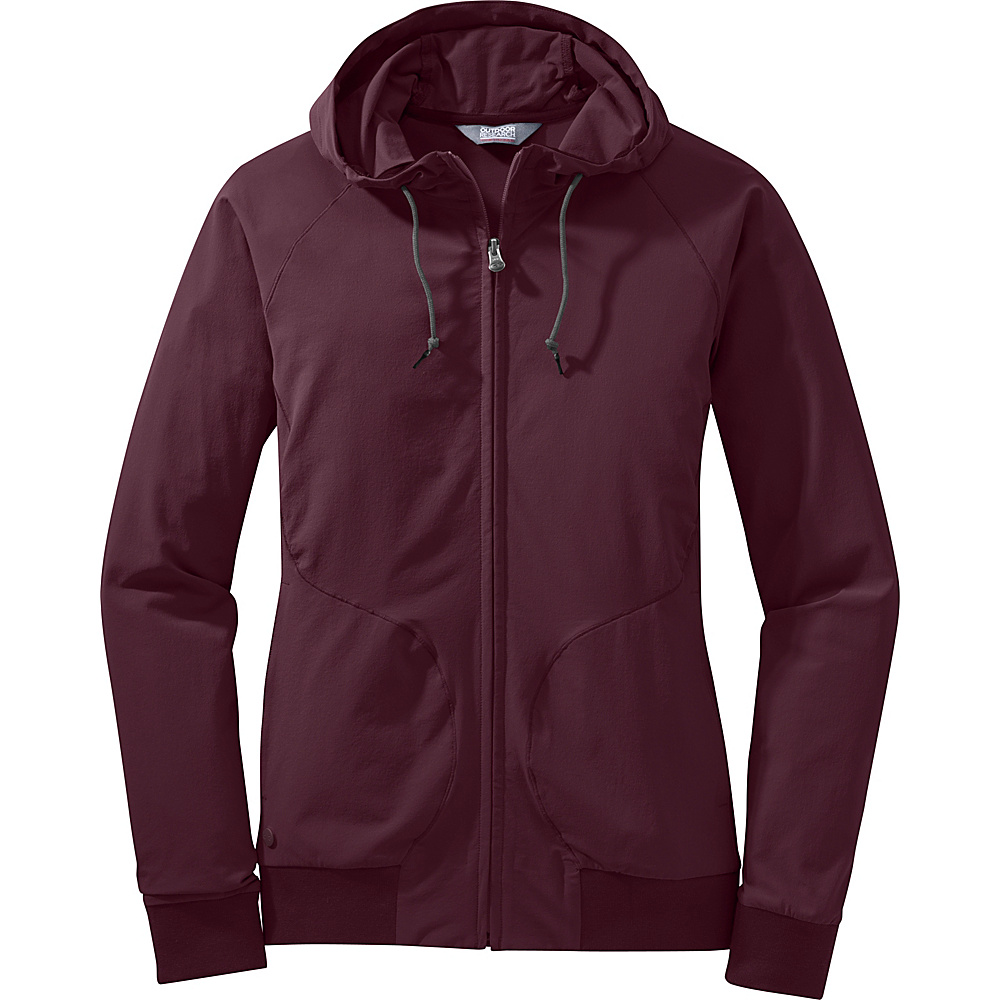 Outdoor Research Womens Ferrosi Metro Hoody M - Pinot - Outdoor Research Womens Apparel - Apparel & Footwear, Women's Apparel