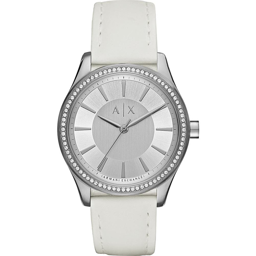A/X Armani Exchange Dress Watch White - A/X Armani Exchange Watches