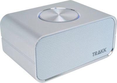 TRAKK CEO Elegant Portable Bluetooth Speaker & Power Bank Silver - TRAKK Headphones & Speakers