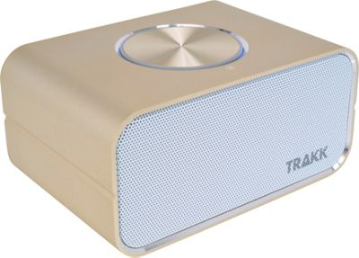 TRAKK CEO Elegant Portable Bluetooth Speaker & Power Bank Gold - TRAKK Headphones & Speakers