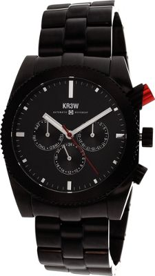 Kr3w Active Men's Red Rum Watch Black - Kr3w Active Watches