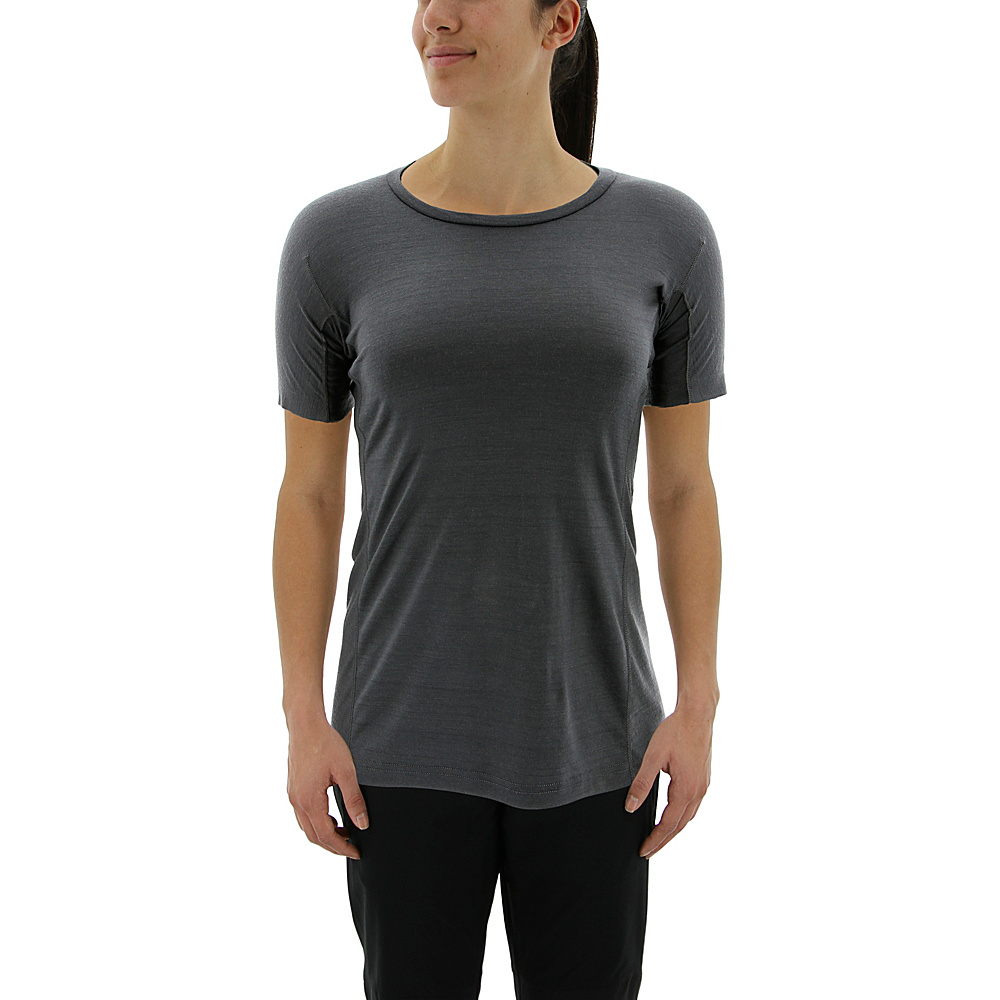 adidas outdoor Womens Agravic Tee XL - Utility Black - adidas outdoor Womens Apparel - Apparel & Footwear, Women's Apparel