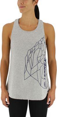 adidas outdoor Womens Rock Tank S - Medium Grey Heather - adidas outdoor Women's Apparel 10567086