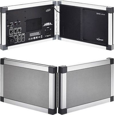 SMK-Link GoSpeak! Pro Ultra-Portable Amplification System Silver - SMK-Link Portable Entertainment