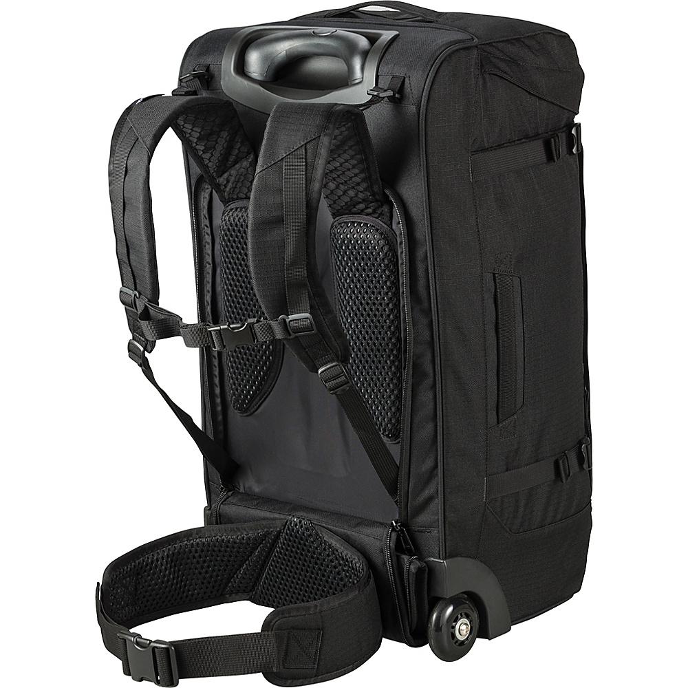DAKINE Sherpa Roller 60L Black - DAKINE Large Rolling Luggage - Luggage, Large Rolling Luggage
