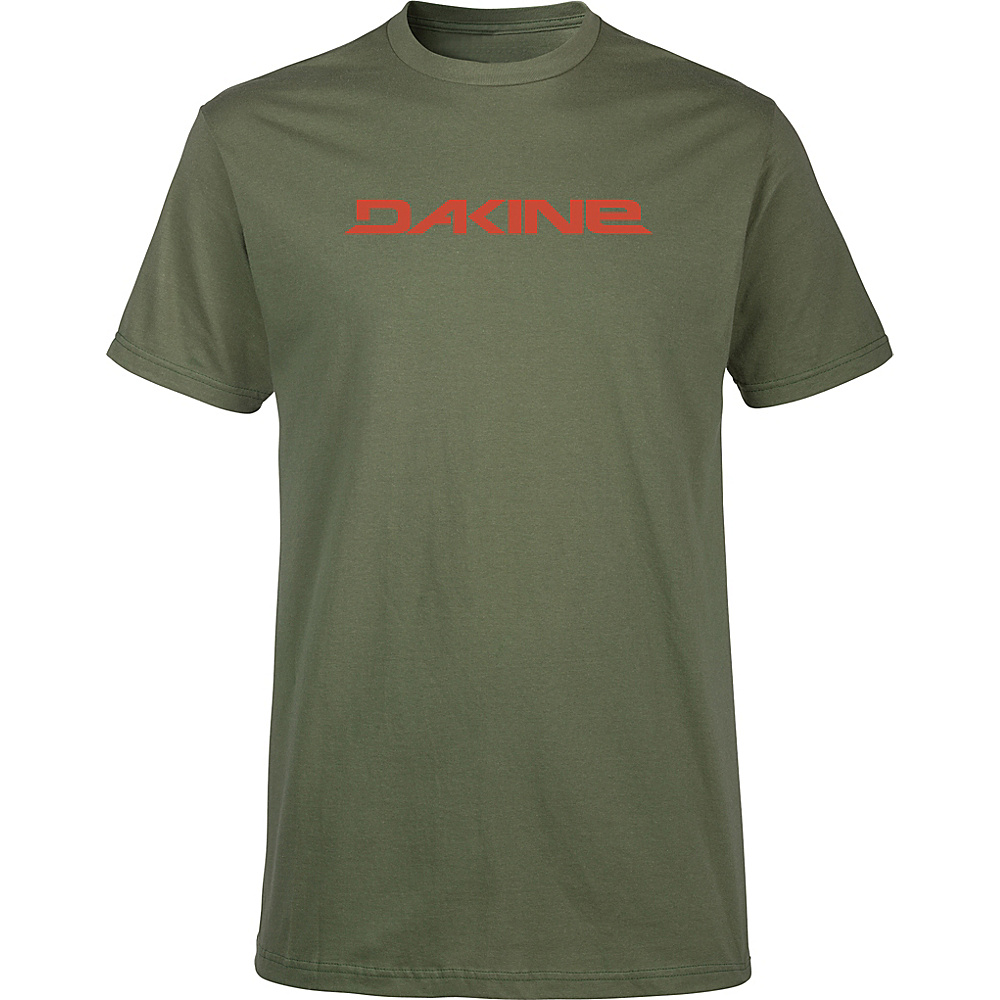 DAKINE Mens Da Rail T-Shirt S - Army - DAKINE Mens Apparel - Apparel & Footwear, Men's Apparel