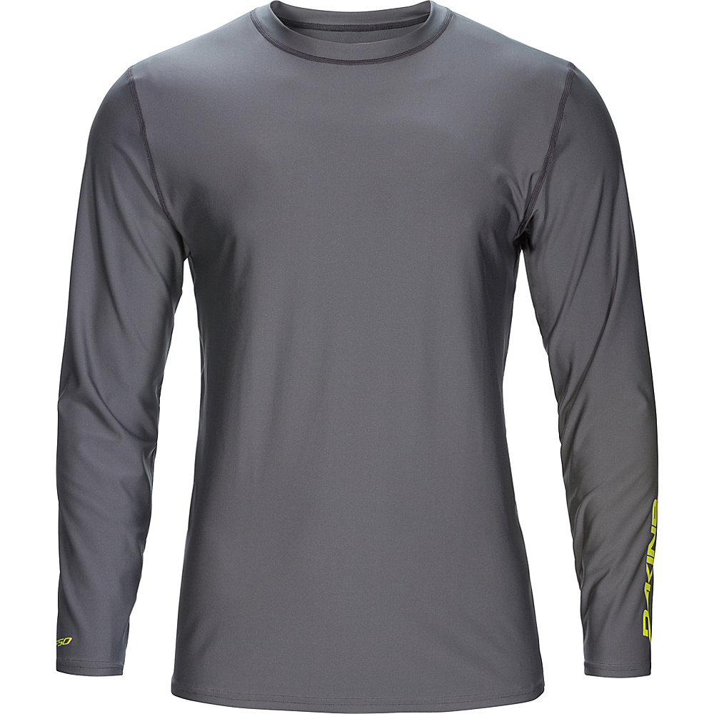 DAKINE Mens Heavy Duty Loose Fit Long Sleeve L - Gunmetal - DAKINE Mens Apparel - Apparel & Footwear, Men's Apparel