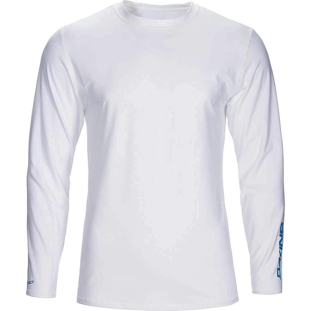 DAKINE Mens Heavy Duty Loose Fit Long Sleeve XL - White - DAKINE Mens Apparel - Apparel & Footwear, Men's Apparel