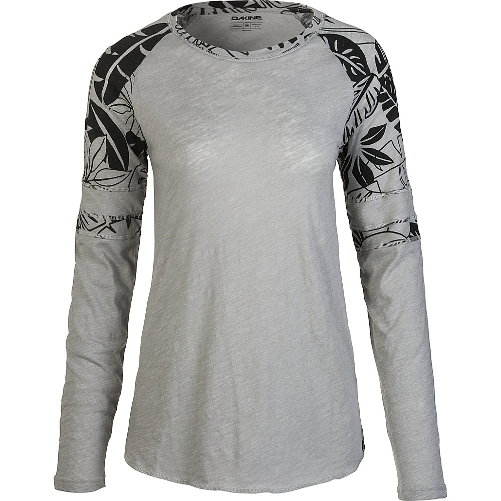 DAKINE Womens Emerson Long Sleeve M - Griffin Inkwell Palm - DAKINE Womens Apparel - Apparel & Footwear, Women's Apparel