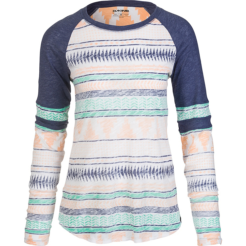 DAKINE Womens Emerson Long Sleeve XS - Prairie Sunset - DAKINE Womens Apparel - Apparel & Footwear, Women's Apparel
