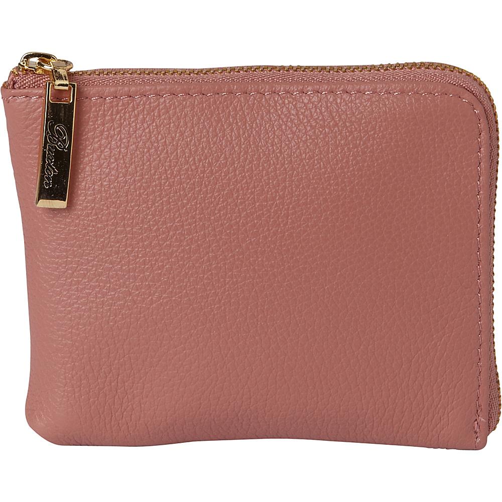 Buxton Florence Mini L-Zip Pouch Pink - Buxton Womens SLG Other - Women's SLG, Women's SLG Other