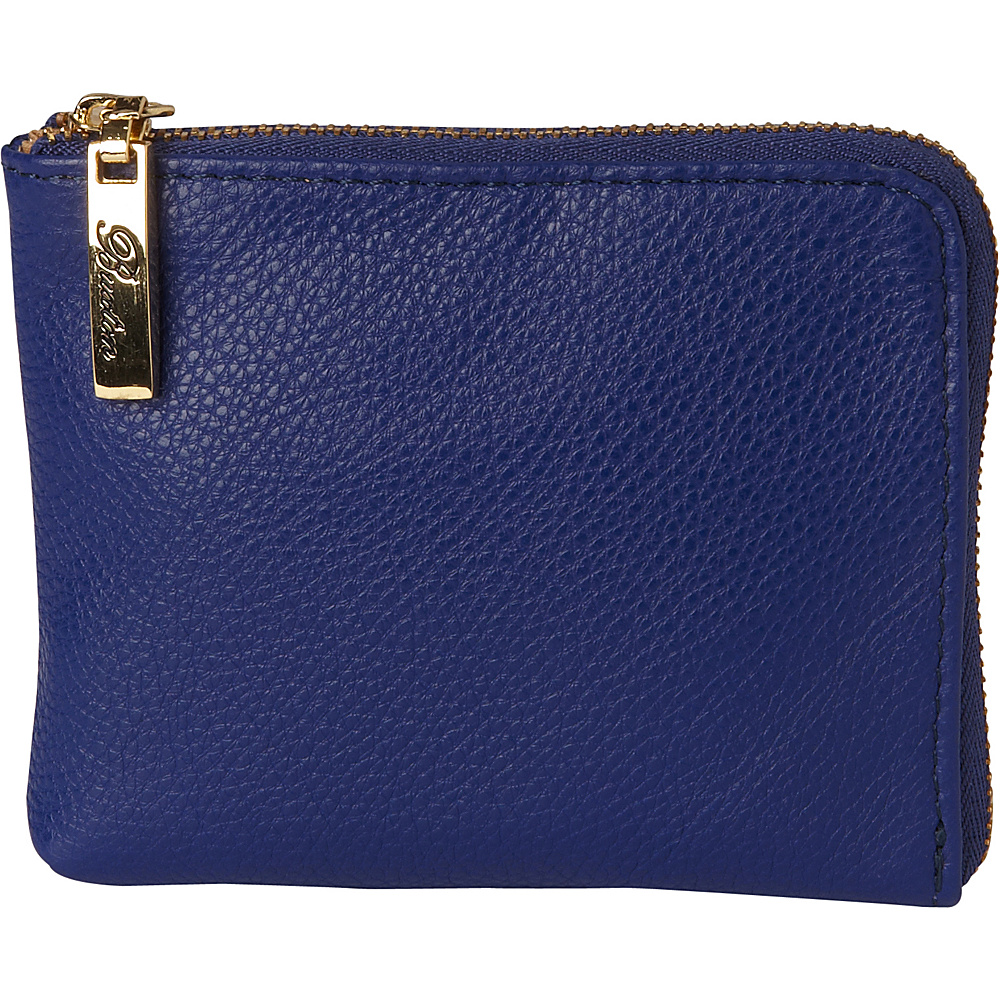 Buxton Florence Mini L-Zip Pouch Admiral Blue - Buxton Womens SLG Other - Women's SLG, Women's SLG Other