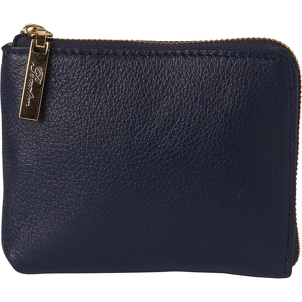Buxton Florence Mini L-Zip Pouch Blue - Buxton Womens SLG Other - Women's SLG, Women's SLG Other