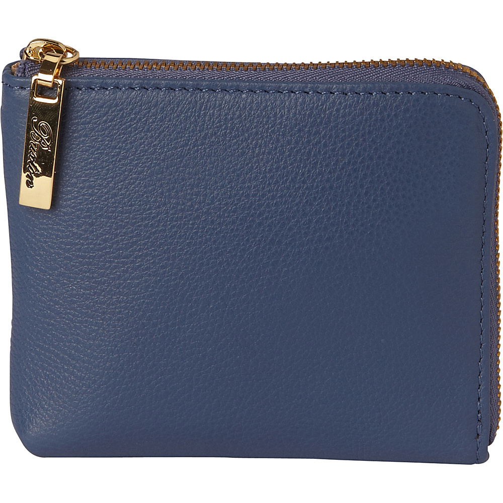 Buxton Florence Mini L-Zip Pouch Light Blue - Buxton Womens SLG Other - Women's SLG, Women's SLG Other