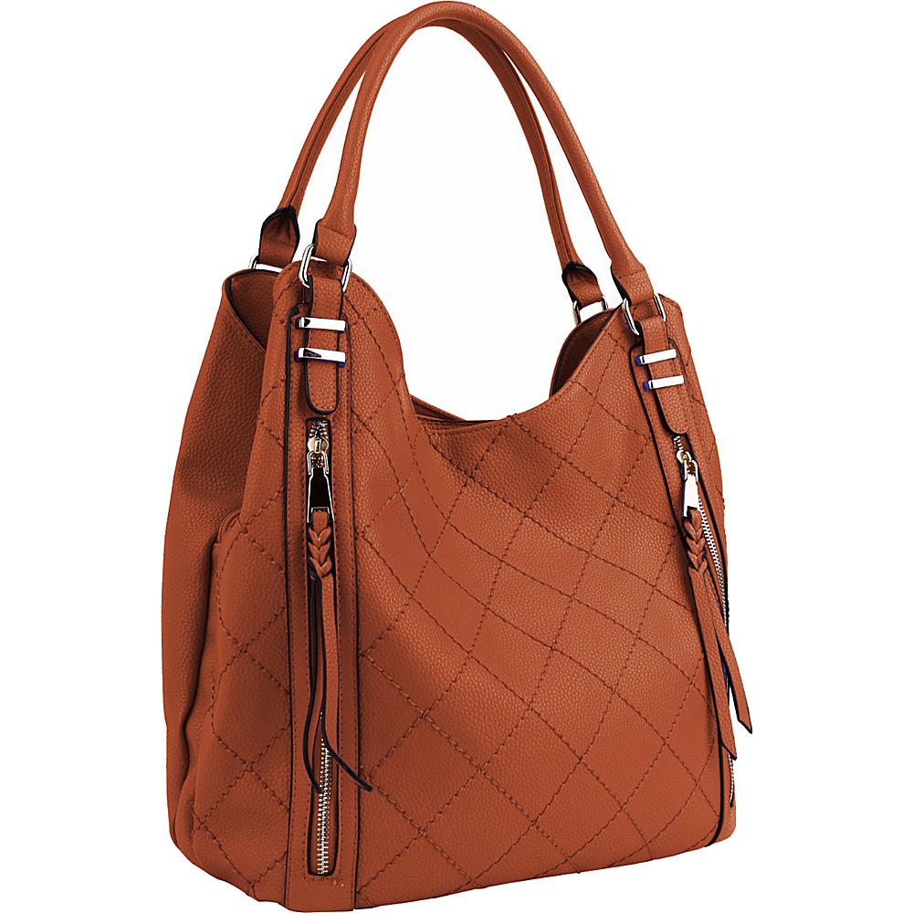 MKF Collection Mary Handbag Brown - MKF Collection Manmade Handbags - Handbags, Manmade Handbags