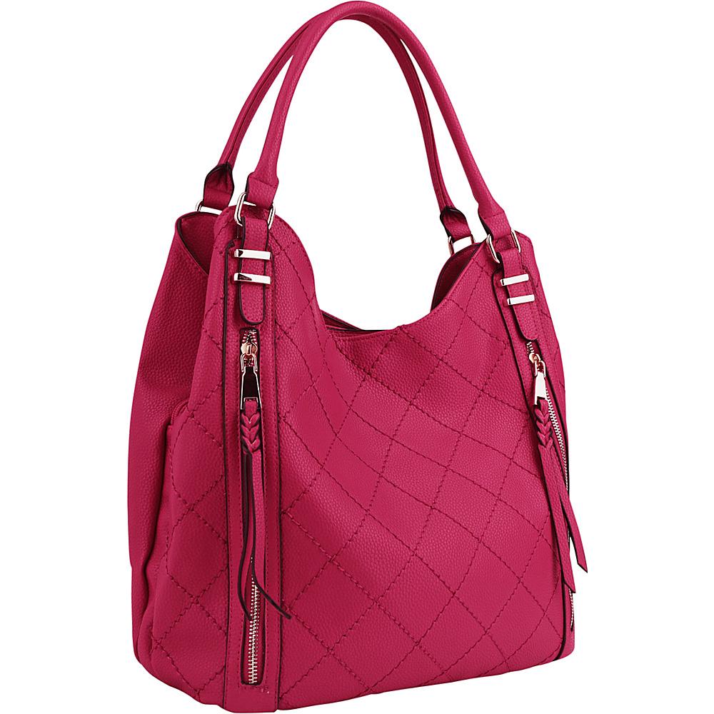 MKF Collection Mary Handbag Pink - MKF Collection Manmade Handbags - Handbags, Manmade Handbags