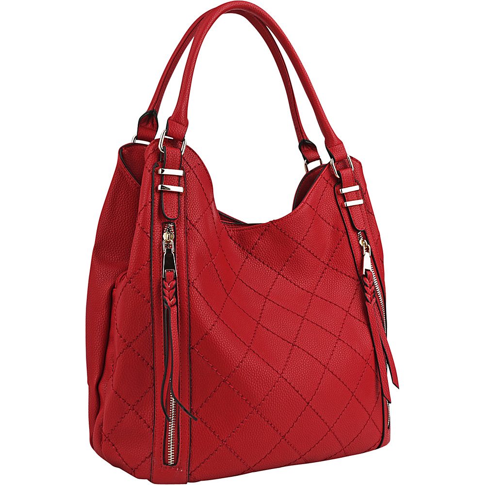 MKF Collection Mary Handbag Red - MKF Collection Manmade Handbags - Handbags, Manmade Handbags