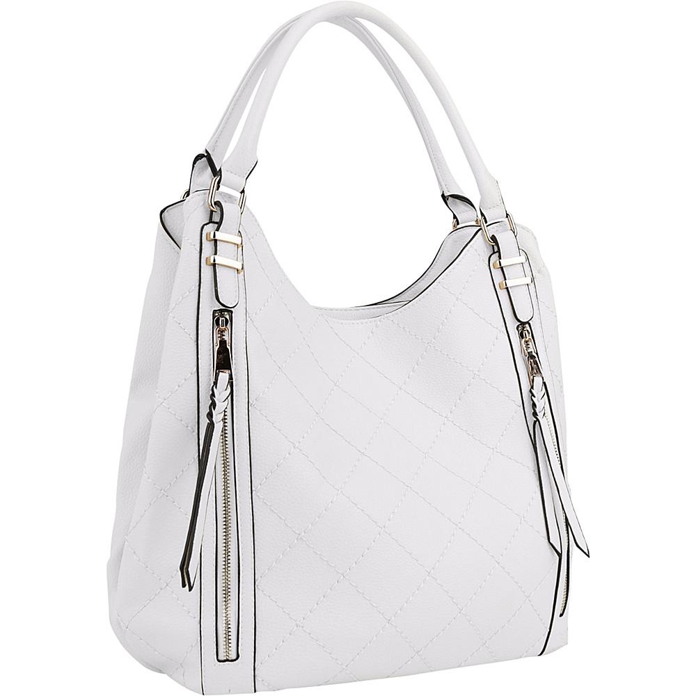 MKF Collection Mary Handbag White - MKF Collection Manmade Handbags - Handbags, Manmade Handbags