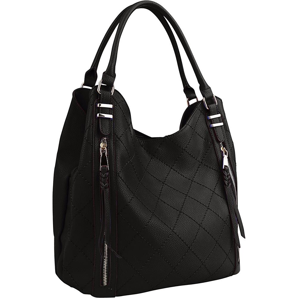 MKF Collection Mary Handbag Black - MKF Collection Manmade Handbags - Handbags, Manmade Handbags
