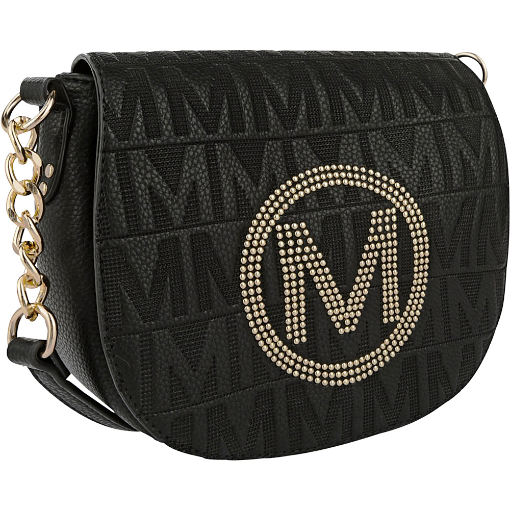 MKF Collection by Mia K. Farrow Verona M Signature Crossbody Black - MKF Collection by Mia K. Farrow Leather Handbags - Handbags, Leather Handbags