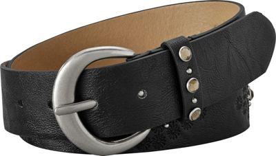 Relic Emboss Jean Belt M - Black - Relic Belts