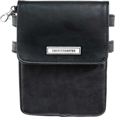SmarterGarter Salem 4.0 Hands-Free Purse Black - Medium - SmarterGarter Manmade Handbags