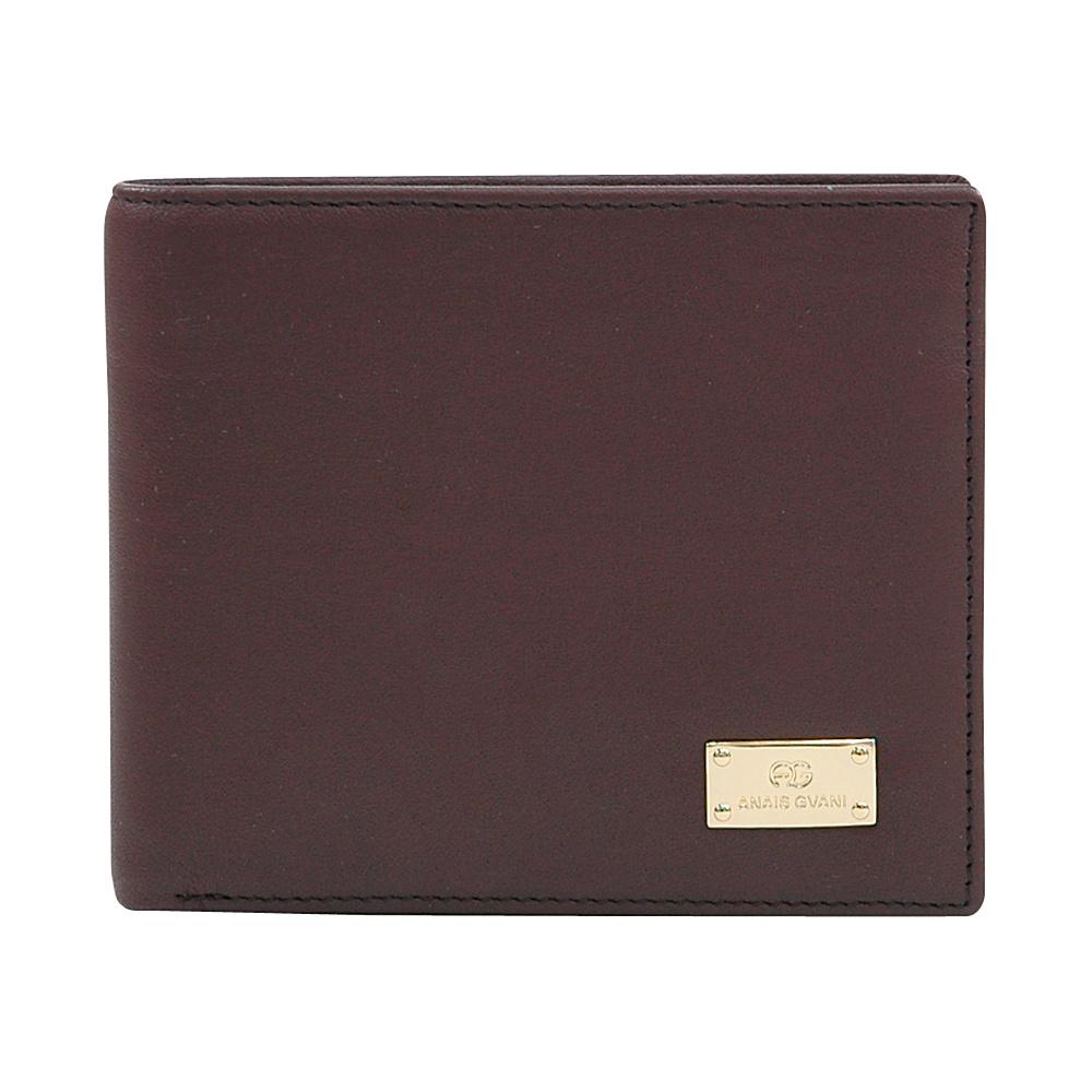 Dasein Mens Genuine Smooth Italian Leather Wallet Brown - Dasein Mens Wallets - Work Bags & Briefcases, Men's Wallets