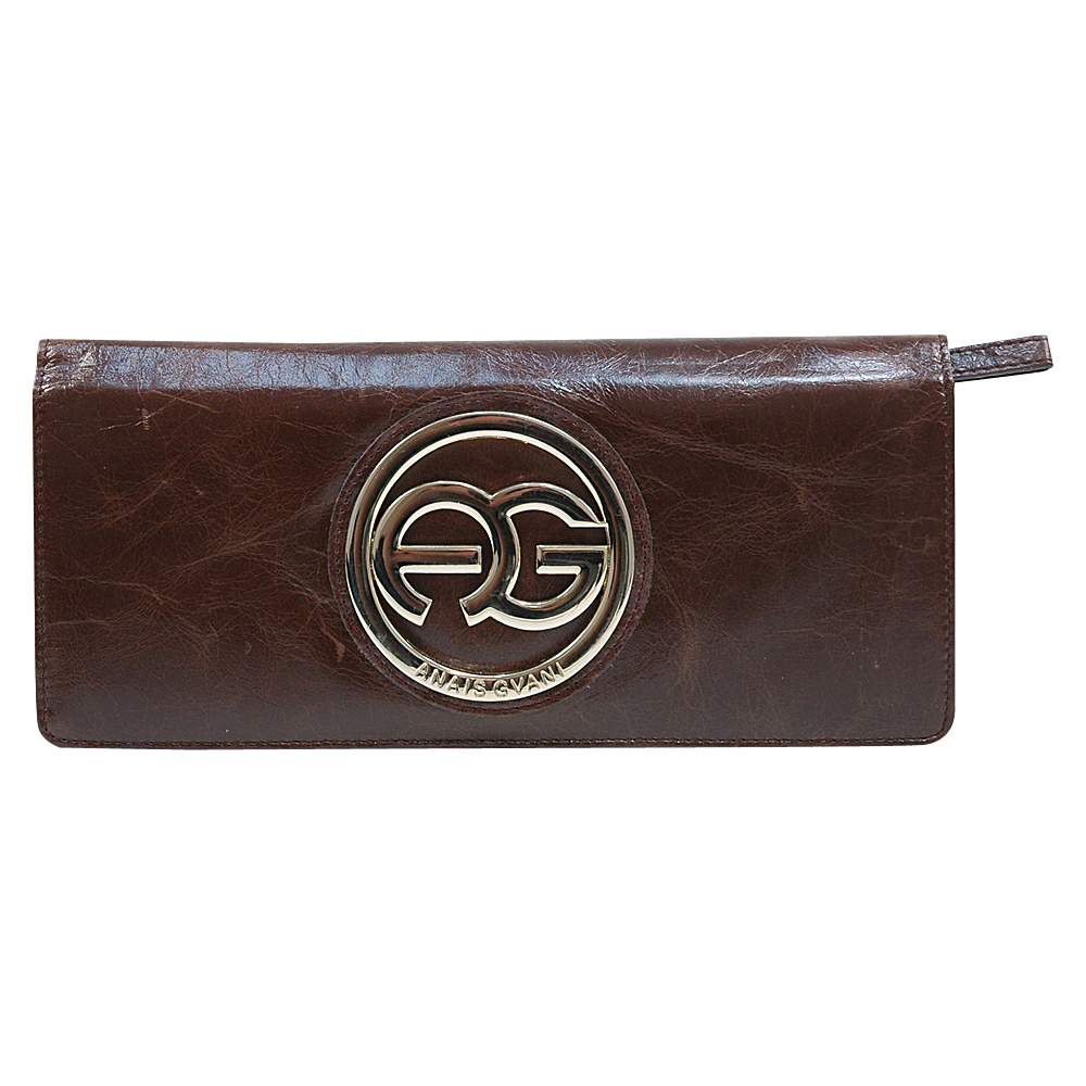 Dasein Womens Clutch Style Bifold Wallet Brown - Dasein Womens Wallets - Women's SLG, Women's Wallets