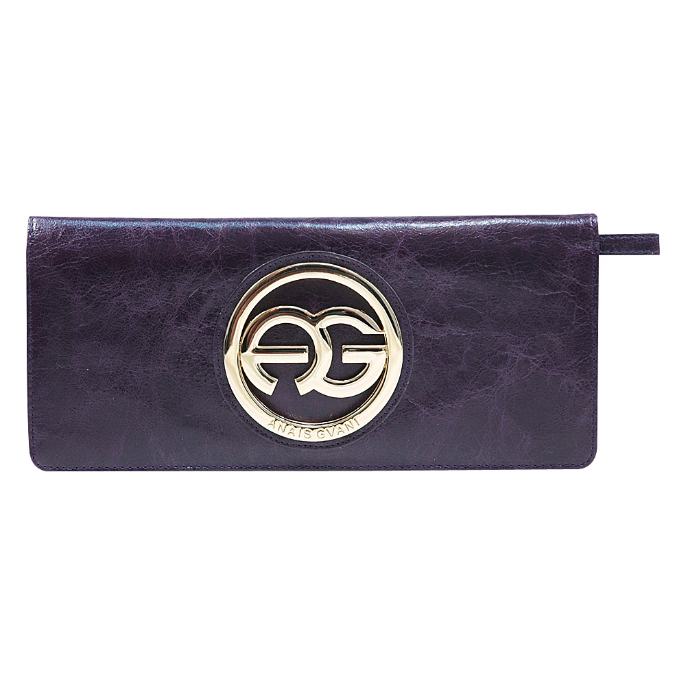 Dasein Womens Clutch Style Bifold Wallet Purple - Dasein Womens Wallets - Women's SLG, Women's Wallets