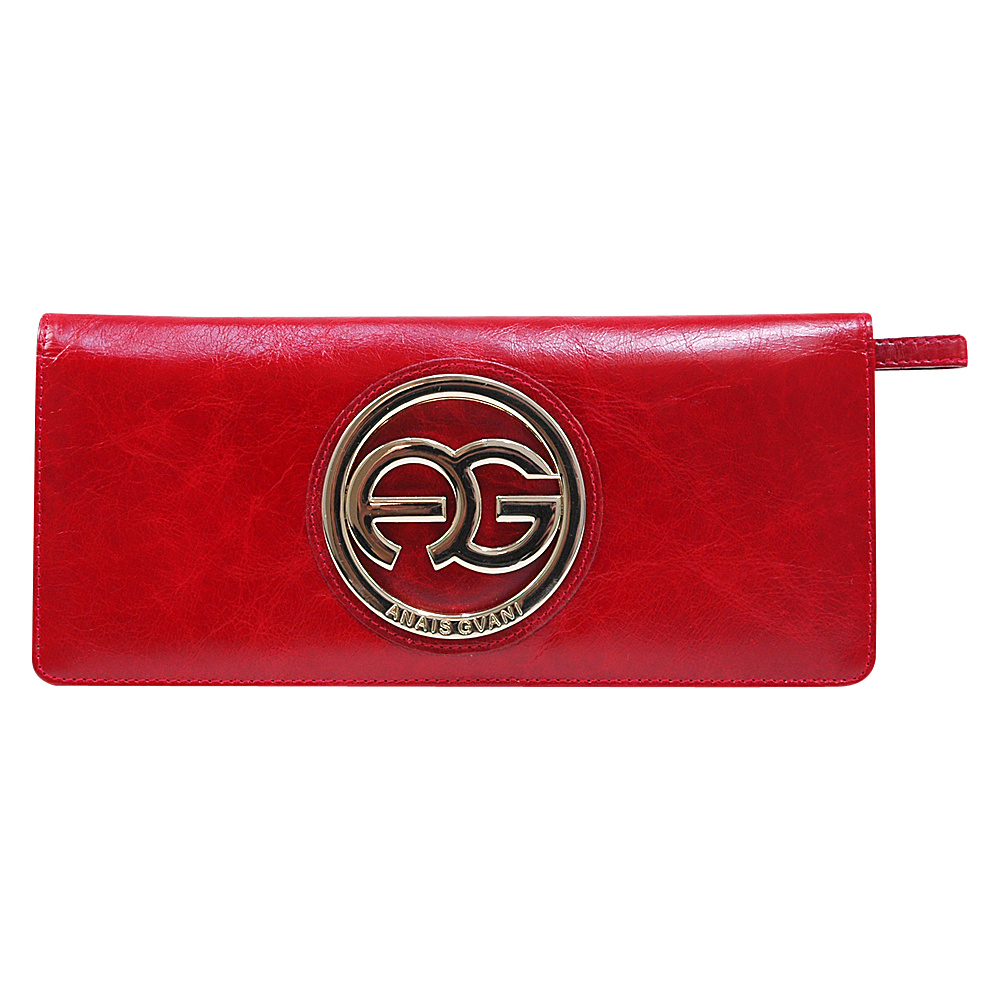 Dasein Womens Clutch Style Bifold Wallet Red - Dasein Womens Wallets - Women's SLG, Women's Wallets