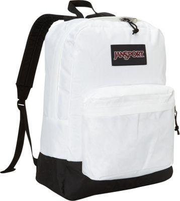 JanSport Black Label Superbreak Backpack White - Black Label - JanSport School & Day Hiking Backpacks