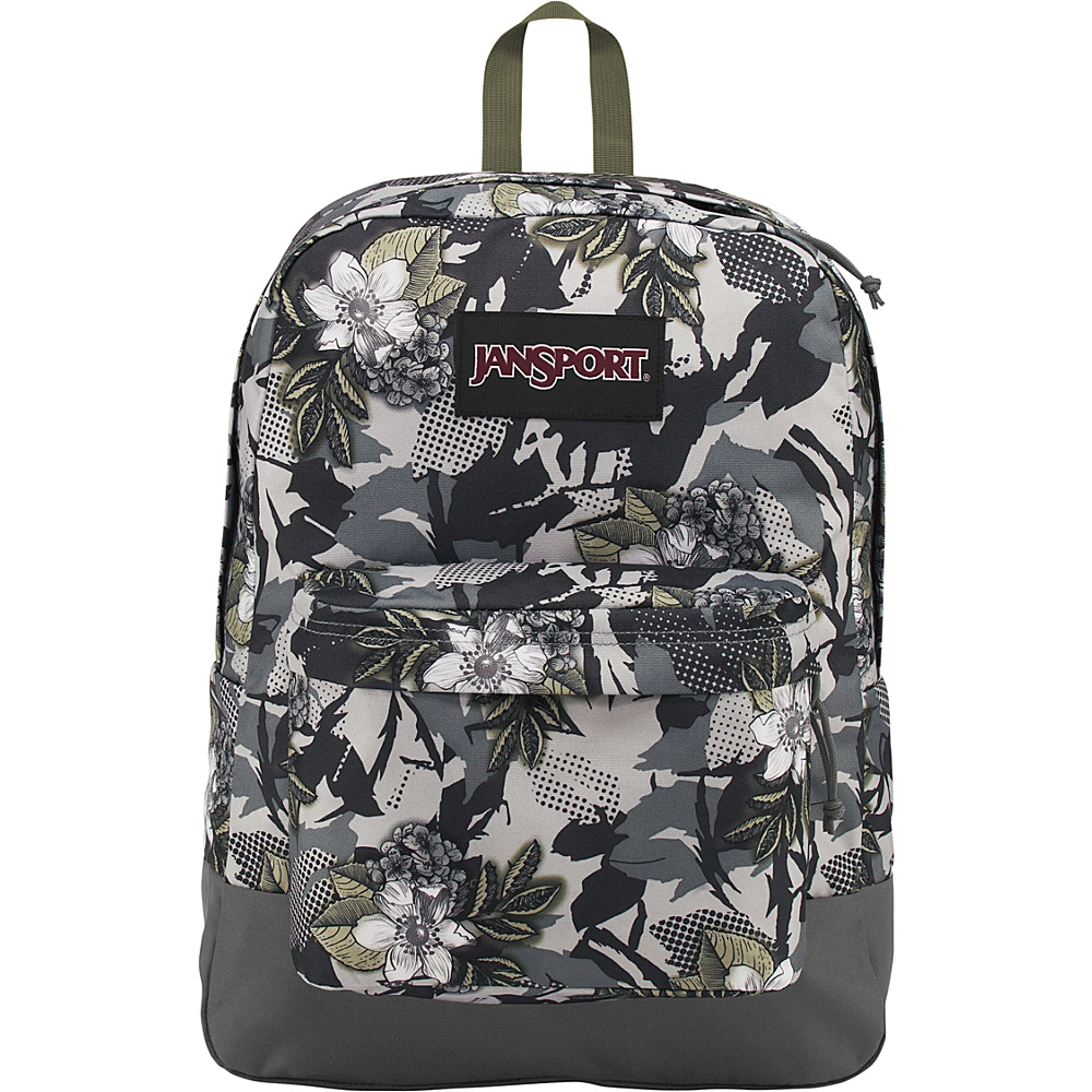 JanSport Black Label Superbreak Backpack Halftone Camo - JanSport School & Day Hiking Backpacks