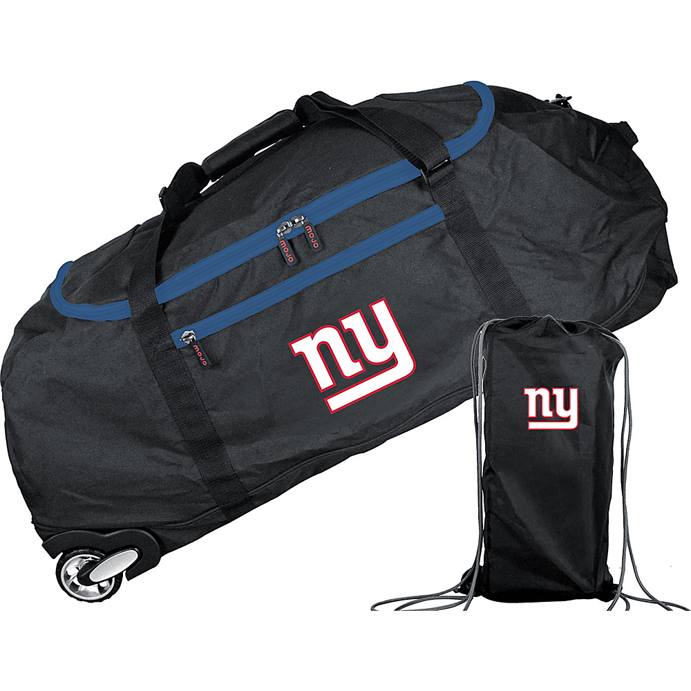 MOJO Denco NFL 36 Collapsible Duffle New York Giants - MOJO Denco Travel Duffels - Duffels, Travel Duffels