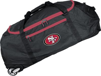 Mojo Licensing NFL 36 inch Collapsible Duffle San Francisco 49ers - Mojo Licensing Travel Duffels