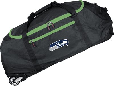 Mojo Licensing NFL 36 inch Collapsible Duffle Seattle Seahawks - Mojo Licensing Travel Duffels