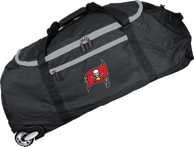 Mojo Licensing NFL 36 inch Collapsible Duffle Tampa Bay Buccaneers - Mojo Licensing Travel Duffels