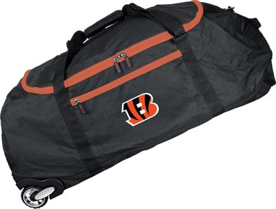 MOJO Denco NFL 36 inch Collapsible Duffle Cincinnati Bengals - MOJO Denco Travel Duffels